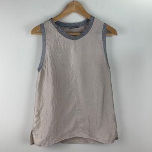 Zara light grey/beige camisole size medium
